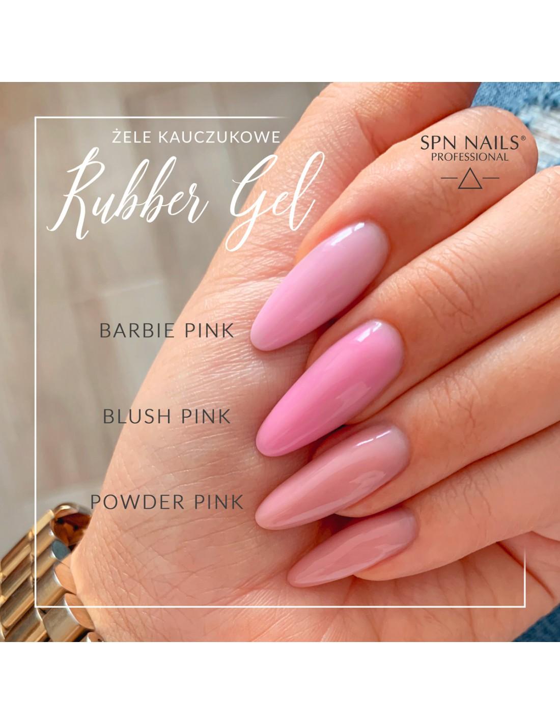 SPN Barbie Pink Rubber Gel 5g