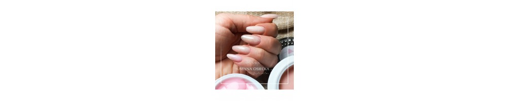 Limited edition! Acryl-O!-Gel SPN Nails med skimrende partikler!